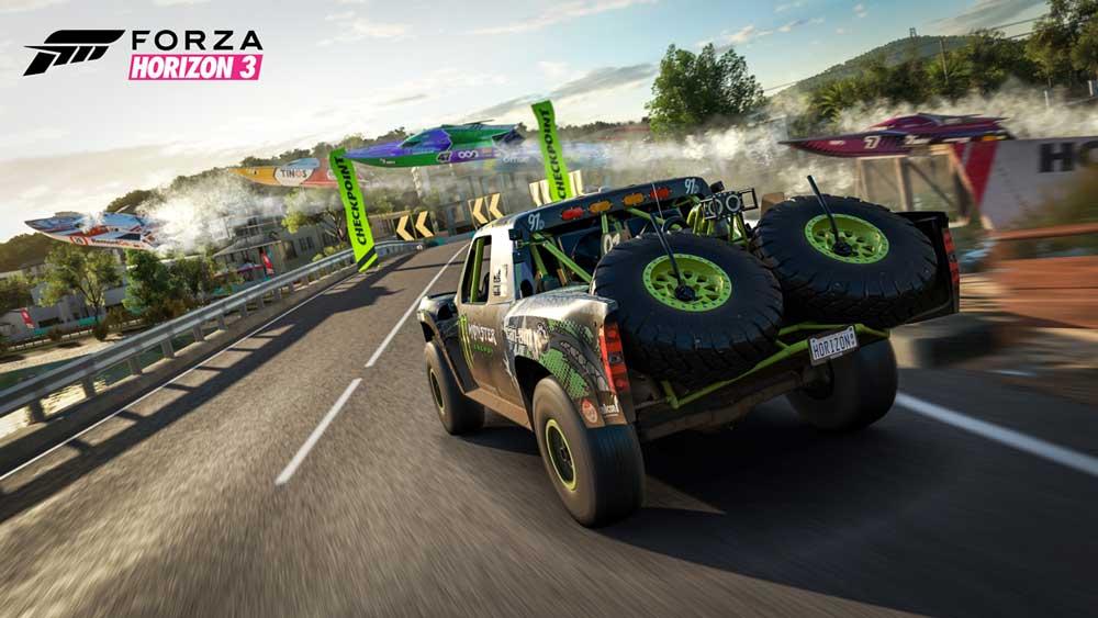 Forza Horizon 3 Preview Boat Race - سی دی کی ( آنلاین دائم  ) اشتراکی  Forza Horizon 3