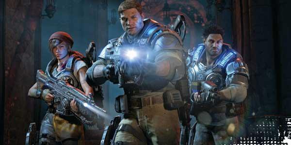 سی دی کی ( آنلاین دائم ) اشتراکی  Gears of War 4