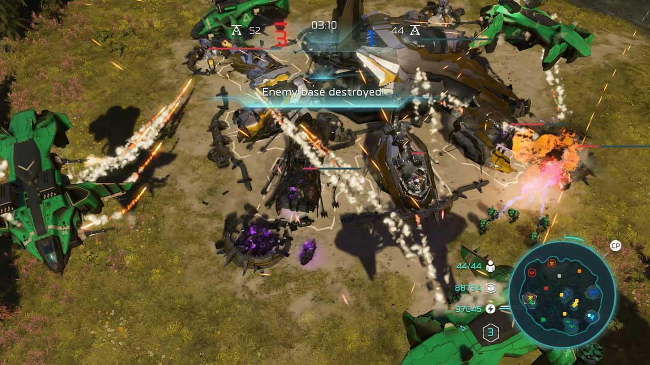 سی دی کی اورجینال Halo Wars 2
