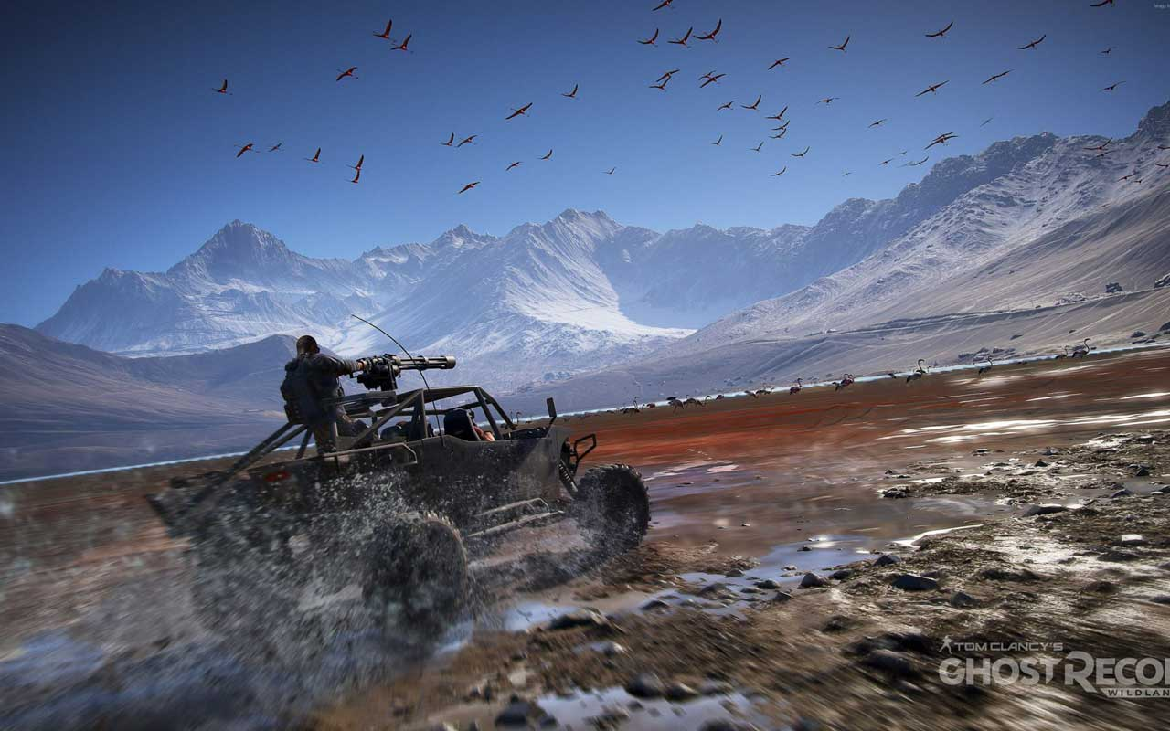 اورجینال یوپلی  Tom Clancy's Ghost Recon: Wildlands