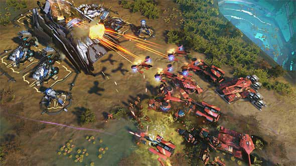 en INTL L Halo Wars 2 for Xbox One 29G 01047 RM2 mnco - سی دی کی اورجینال Halo Wars 2