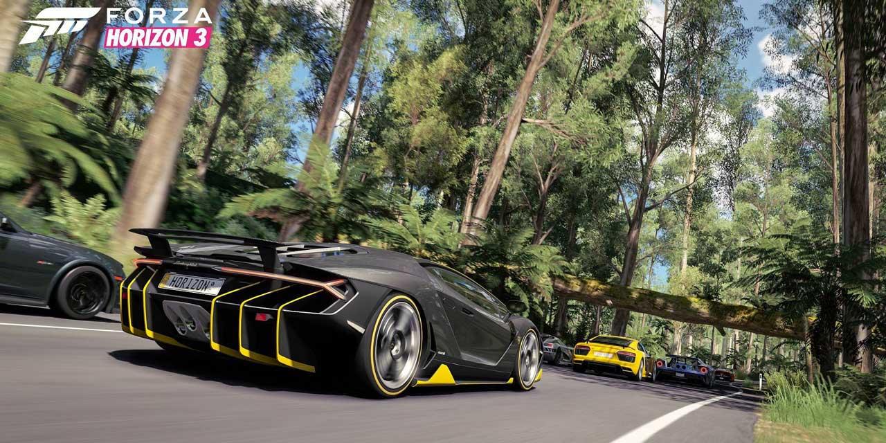 forza 3 v7 FH3Expansion - سی دی کی ( آنلاین دائم  ) اشتراکی  Forza Horizon 3