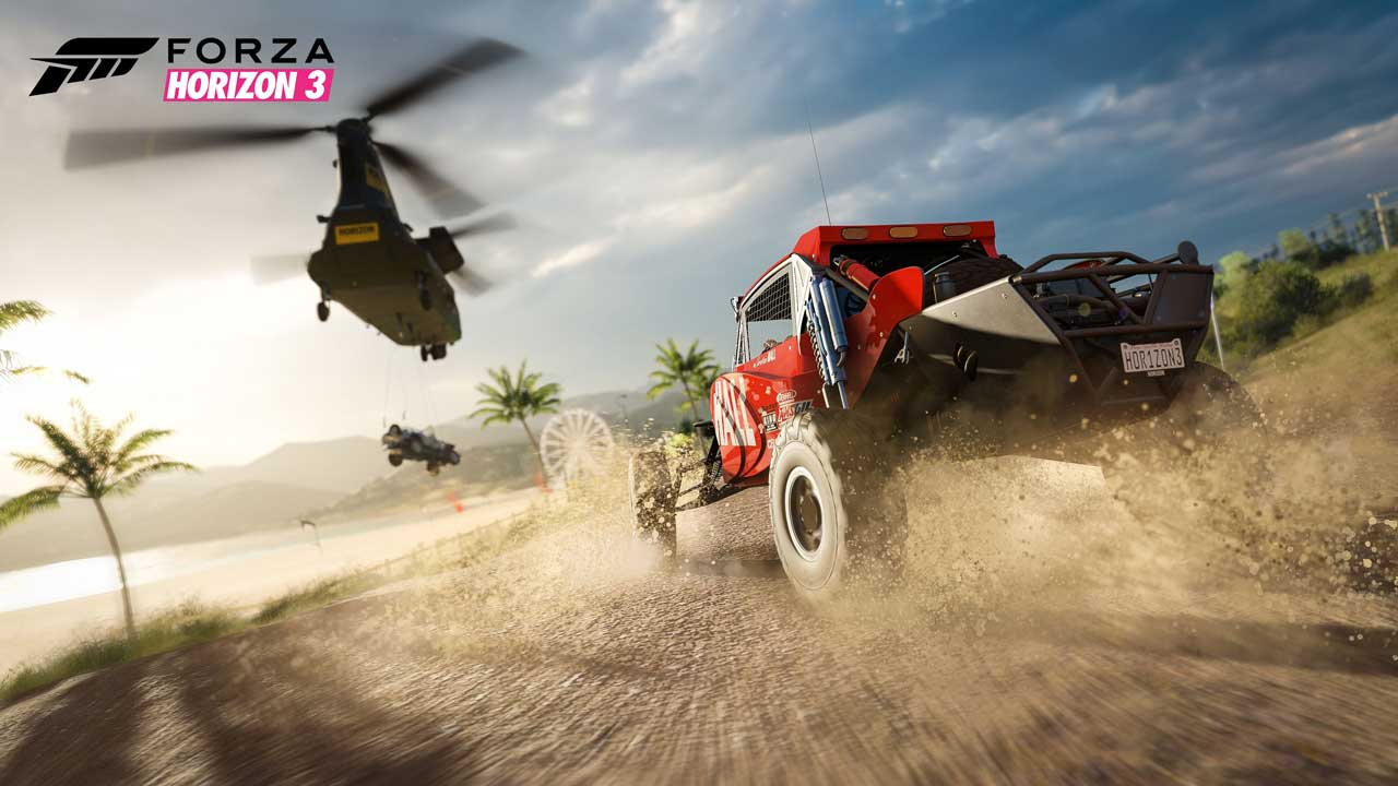 forza 3 v7 FHpansion - سی دی کی ( آنلاین دائم  ) اشتراکی  Forza Horizon 3