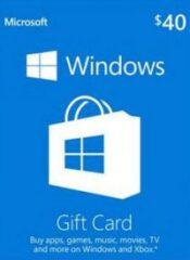 ۴۰$ Microsoft Gift Card