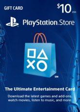 PSN Gift Card $10