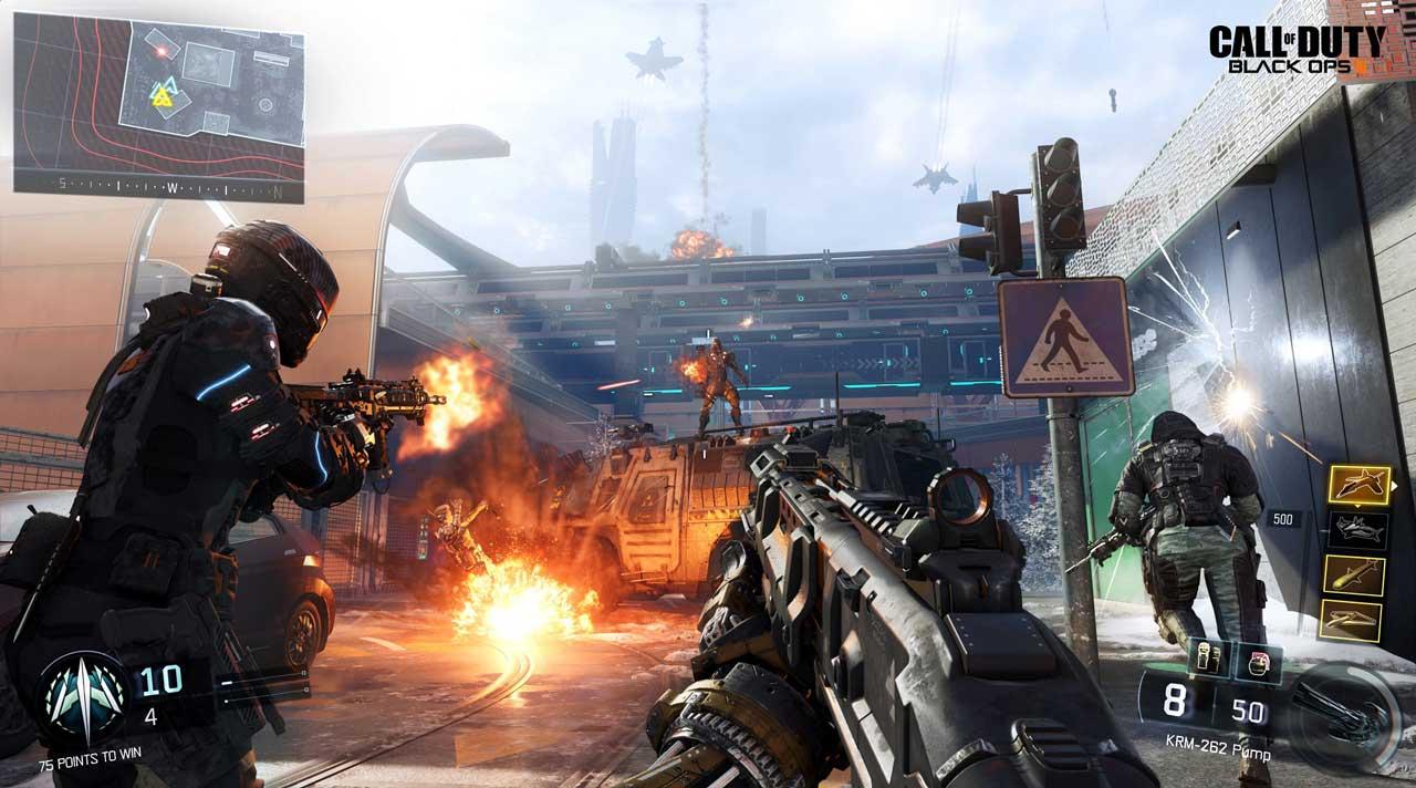 Black Ops 3 MP Metro WM - اورجینال  Call of Duty: Black Ops III
