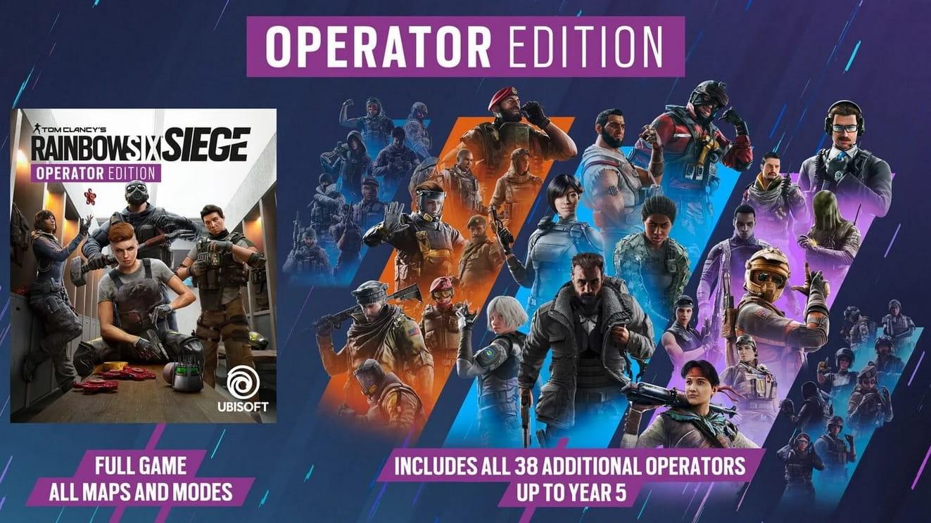 Tom Clancys Rainbow Six Siege operator2 min - اورجینال رینبو Tom Clancy's Rainbow Six Siege