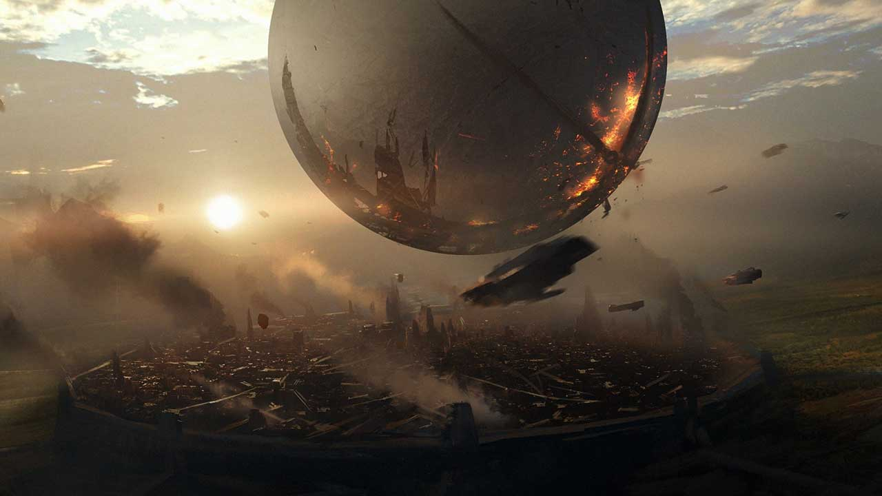 destiny 2 traveler sfera art bungie activision gory - بکاپ Destiny 2