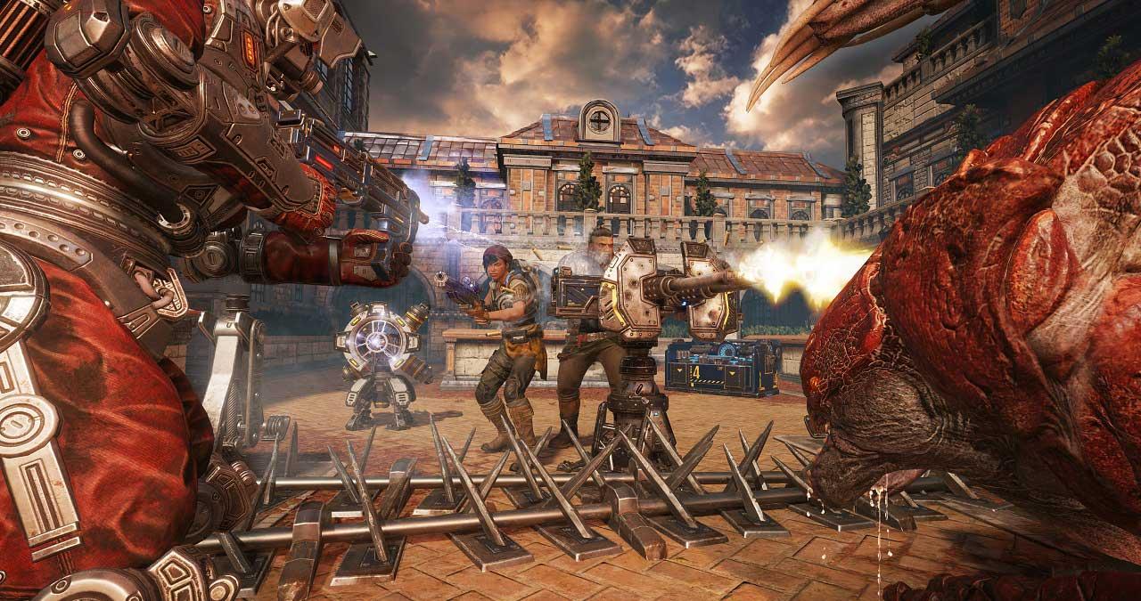 gears of war 4 horde mode 2 - سی دی کی ( آنلاین دائم ) اشتراکی  Gears of War 4