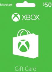 Xbox Gift Card $50 US