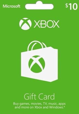 Xbox Gift Card $10 US
