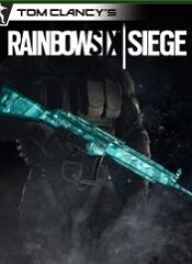 آیتم و DLC استیم و یوپلی  Rainbow Six Siege – Cyan Weapon Skin