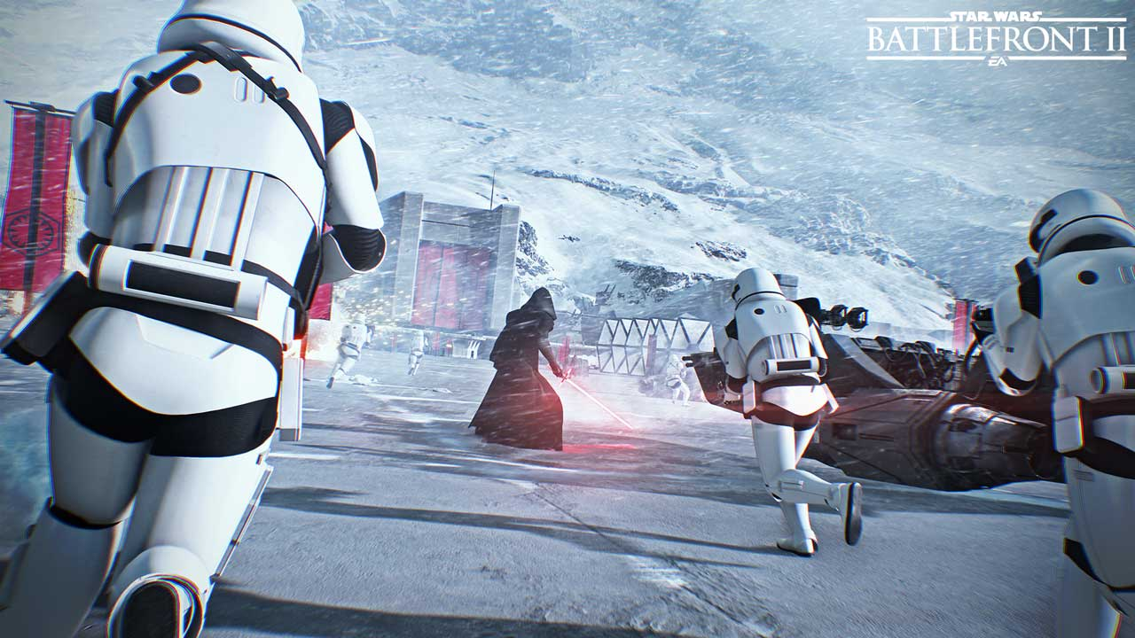 SWBFII Reveal Screenshot 6 - سی دی کی اورجینال  Star Wars: Battlefront II