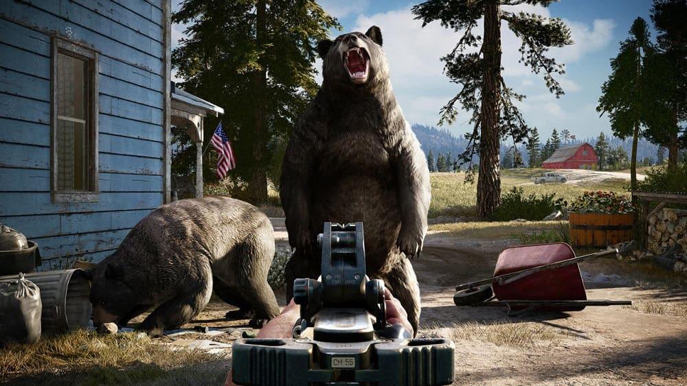 سی دی کی اورجینال یوپلی Far Cry 5
