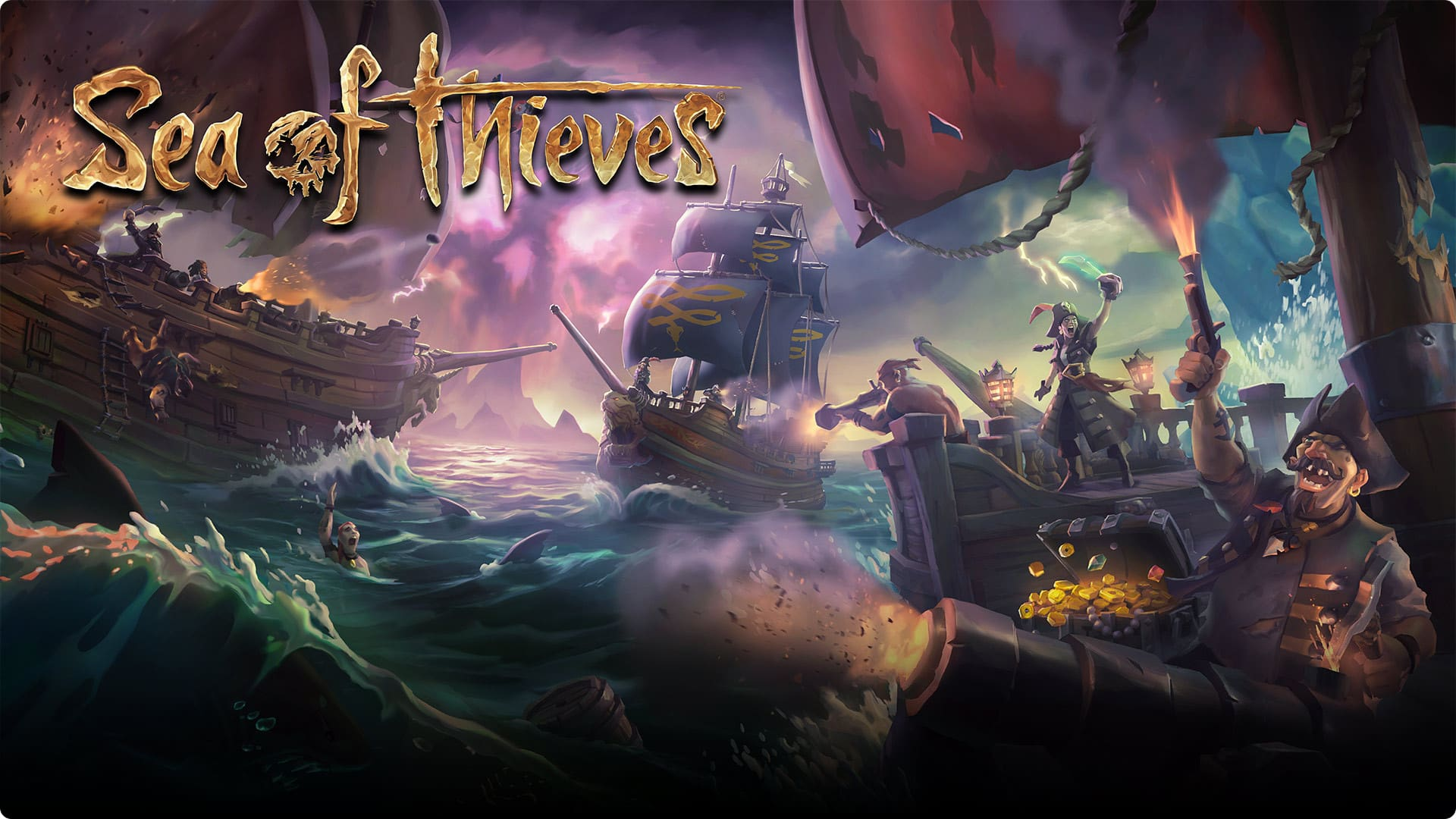 SeaOfThieves min - سی دی کی اشتراکی Game Pass Ultimate PC  ( آنلاین )