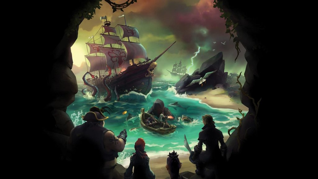 sea of thieves1 min min 1024x576 - سی دی کی اورجینال Sea of Thieves