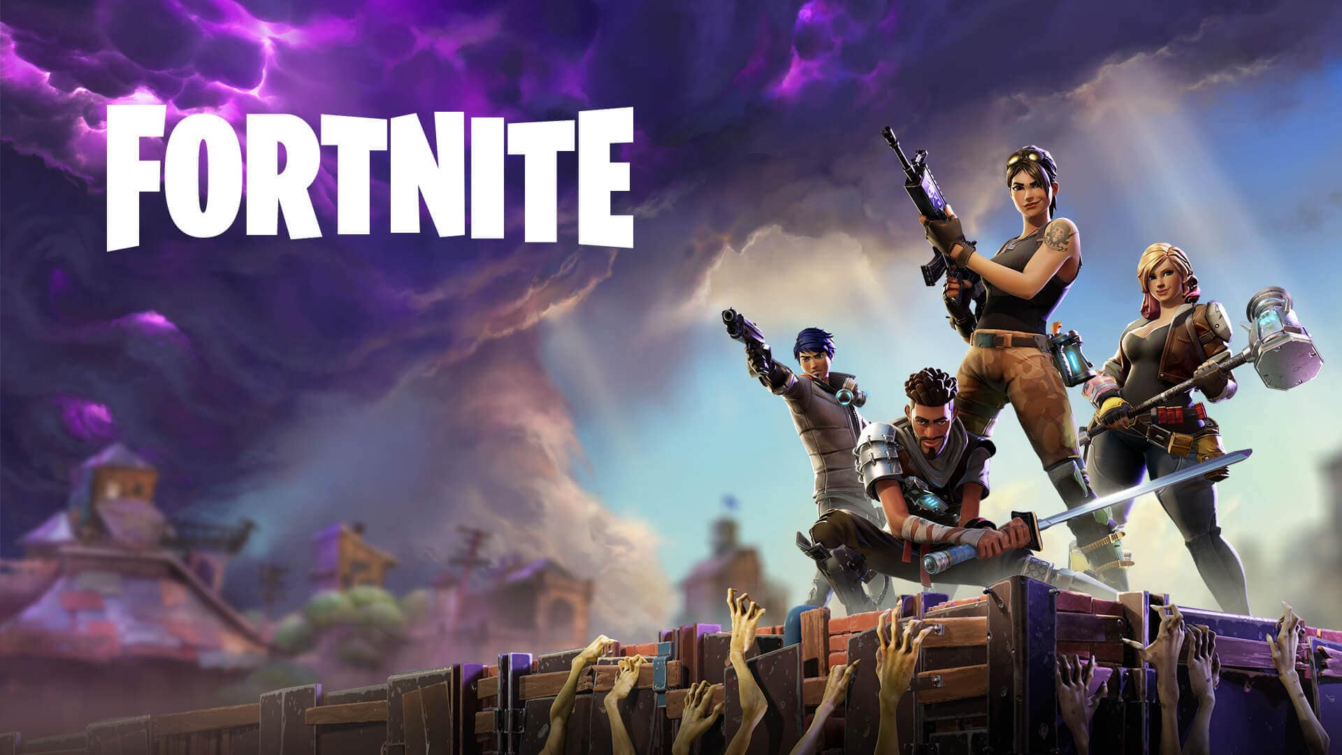 اورجینال Fortnite (save the world)