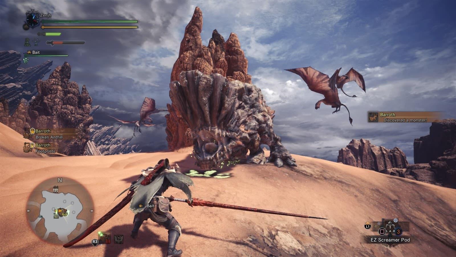 monster hunter world gameplay 3 min - سی دی کی اشتراکی MONSTER HUNTER: WORLD