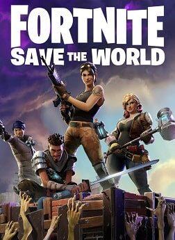 سی دی کی اورجینال Fortnite (Save The World)