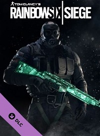 آیتم و DLC استیم و یوپلی Rainbow Six Siege – Emerald Weapon Skin