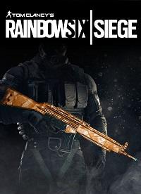 آیتم و DLC استیم و یوپلی Rainbow Six Siege – Topaz Weapon Skin