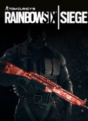آیتم و DLC استیم و یوپلی Rainbow Six Siege – Ruby Weapon Skin