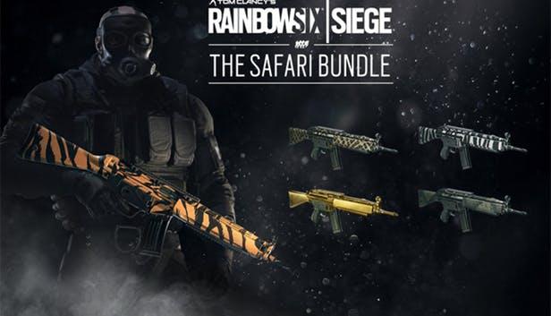 edf62b934f9f153d75e492e59a3c14fe7d791882 - آیتم و DLC استیم و یوپلی Rainbow Six Siege - The Safari Bundle