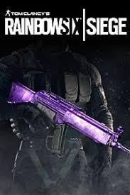 آیتم و DLC استیم و یوپلی Rainbow Six Siege – Amethyst Weapon Skin