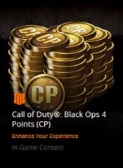 Points (CP) سکه درون بازی / Call of Duty: BO4