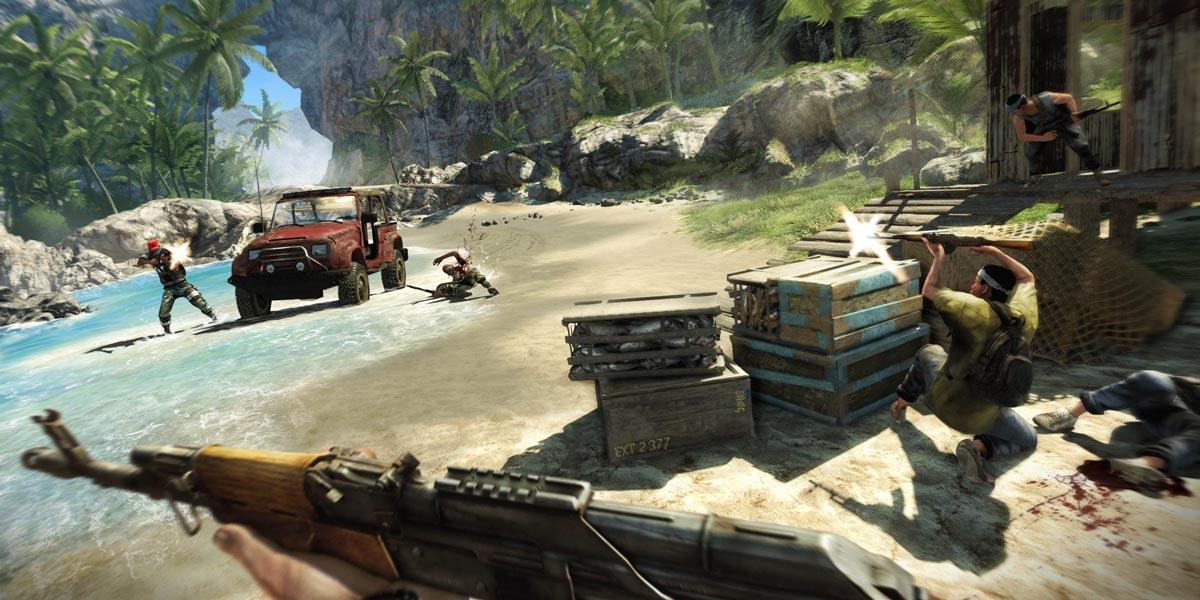 سی دی کی اورجینال Far Cry 3