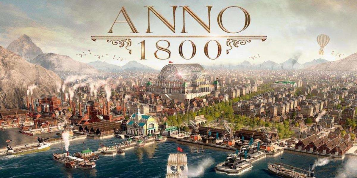 w1 12 - سی دی کی اورجینال Anno 1800