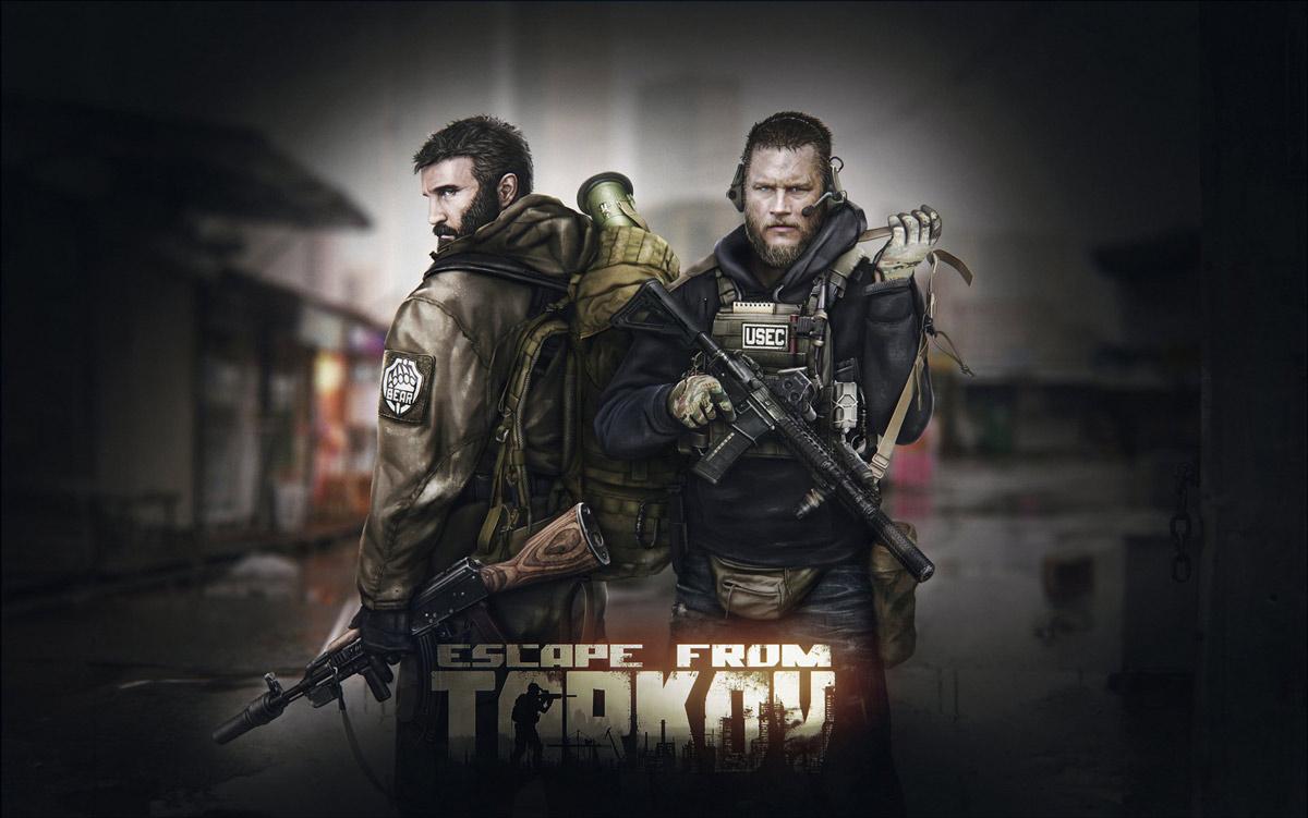 w1 2 - سی دی کی اورجینال Escape from Tarkov