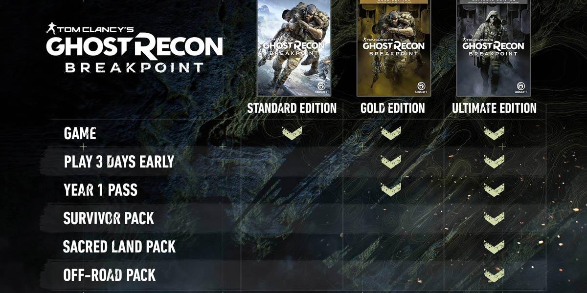 w4 - سی دی کی اورجینال  Tom Clancy's Ghost Recon Breakpoint