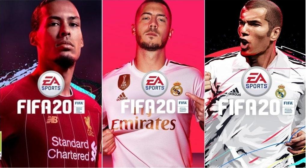 سی دی کی اشتراکی بازی FIFA 20 (فیفا ۲۰)