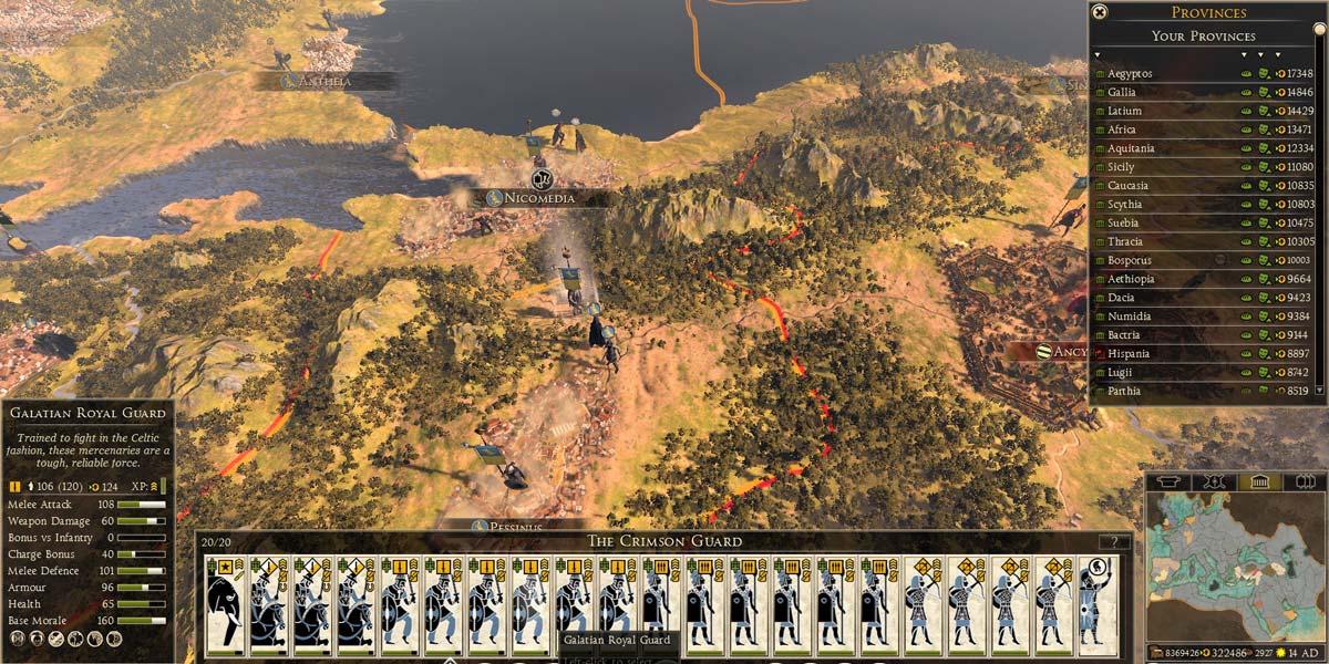 اورجینال استیم Total War: ROME II – Emperor Edition