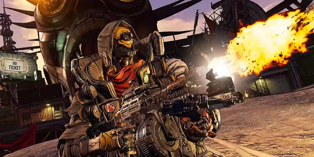 سی دی کی اشتراکی  Borderlands 3 super deluxe edition