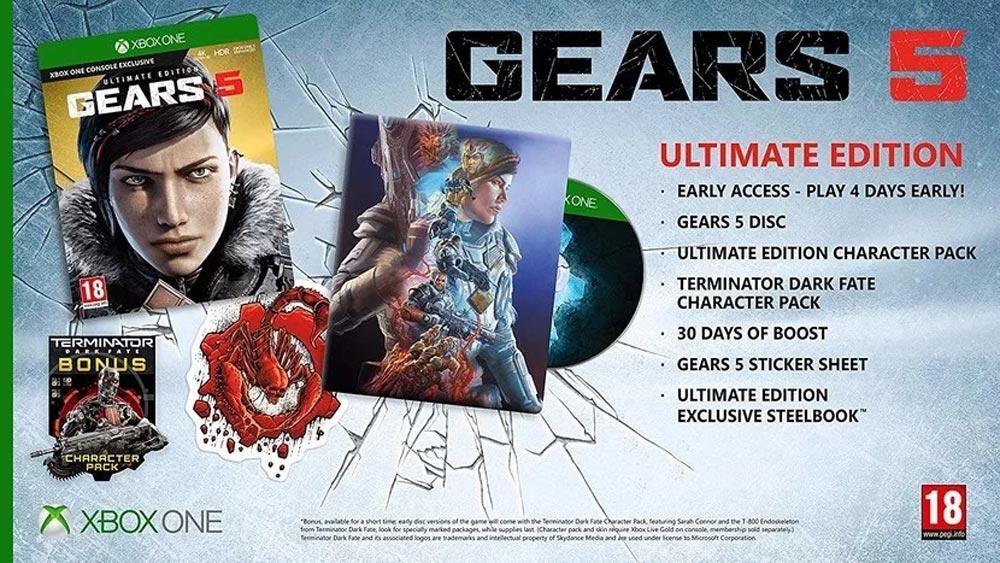 w6 - سی دی کی اشتراکی آنلاین Gears 5 Ultimate Edition
