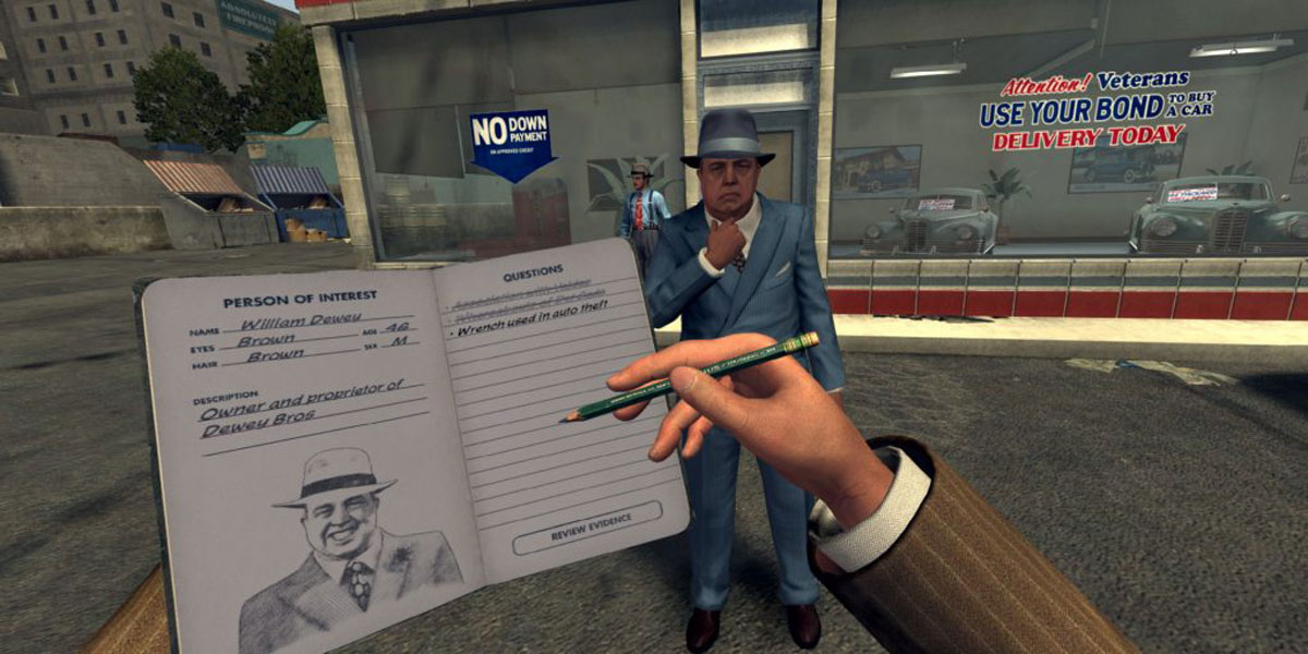 اوریجینال استیم L.A. Noire