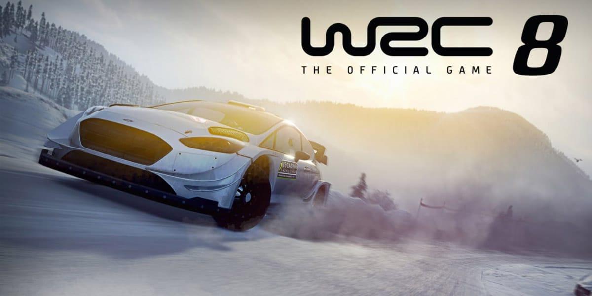 w2 12 - سی دی کی اوریجینال WRC 8 FIA World Rally Championship