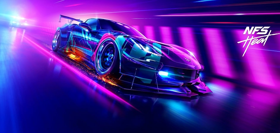 56756 min - سی دی کی اشتراکی  Need for Speed Heat : Deluxe Edition