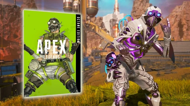 octane edition apex legends arachnoid outfit skin weapon camo charge rifle cosmetic items how to get price cost min - سی دی کی  Apex Legends - Octane Edition