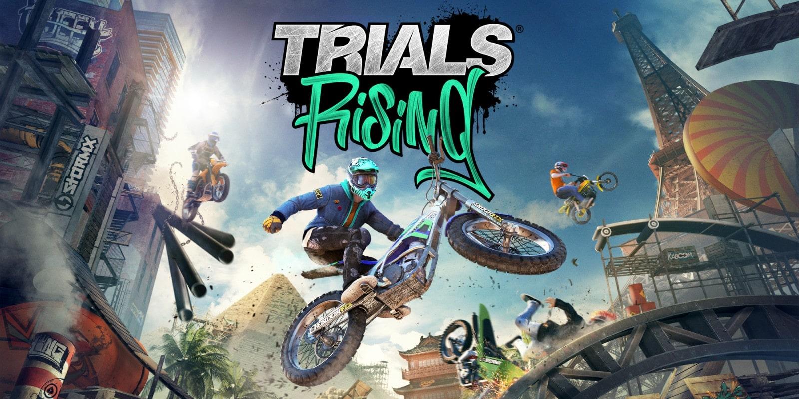 سی دی کی اشتراکی  Trials Rising – Gold Edition