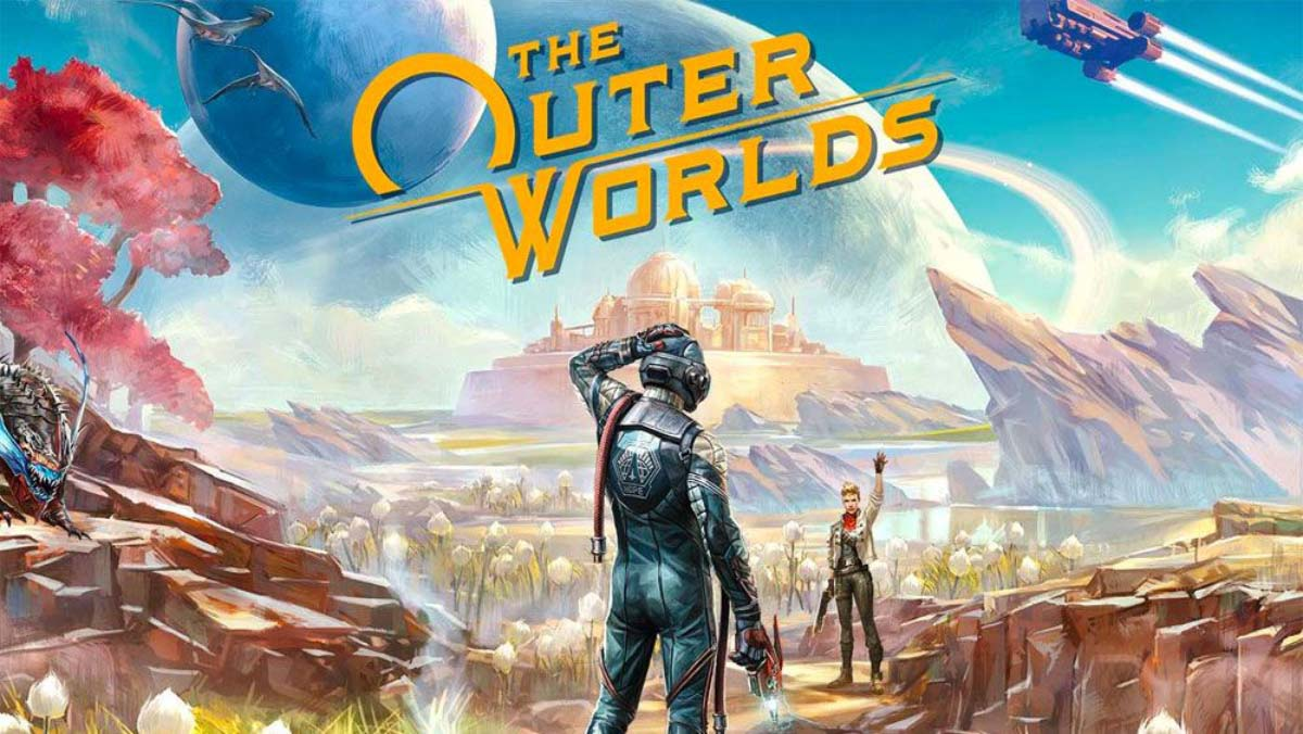 w1 32 - سی دی کی اورجینال  The Outer Worlds