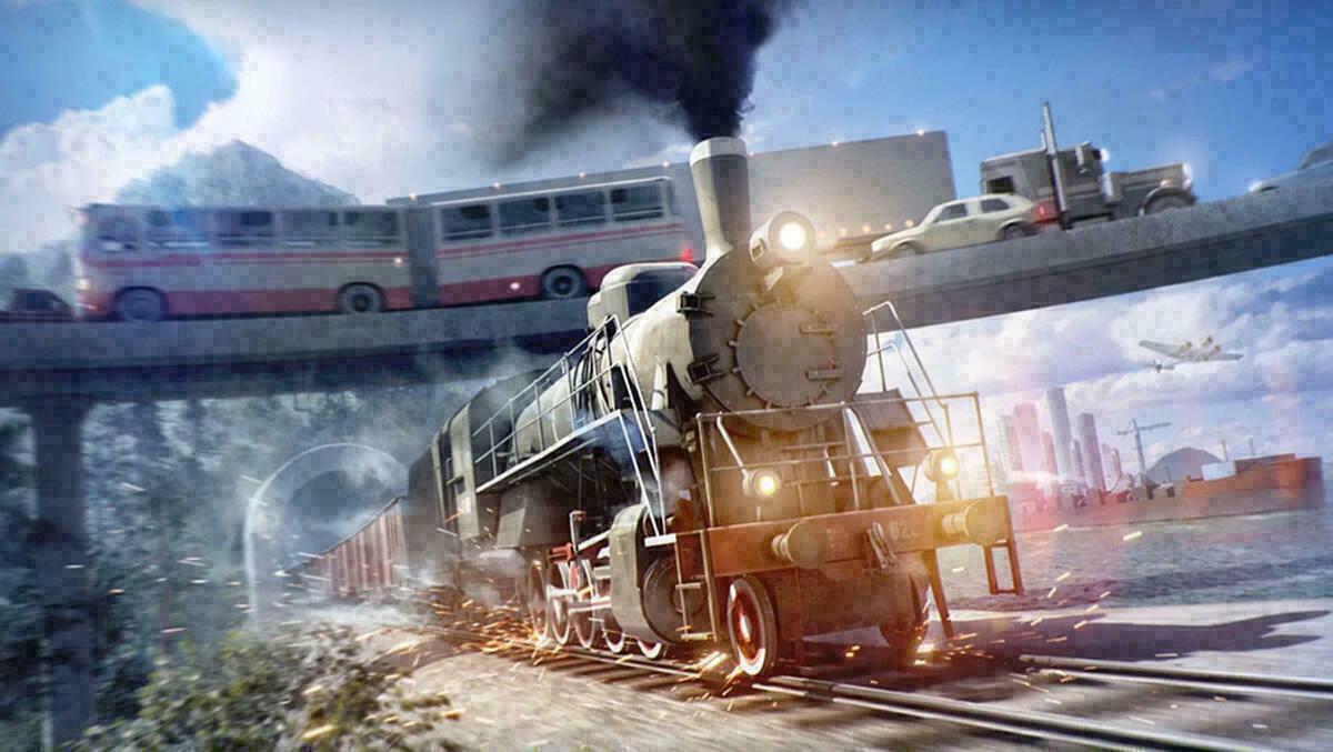 w2 9 - سی دی کی اورجینال  Transport Fever 2