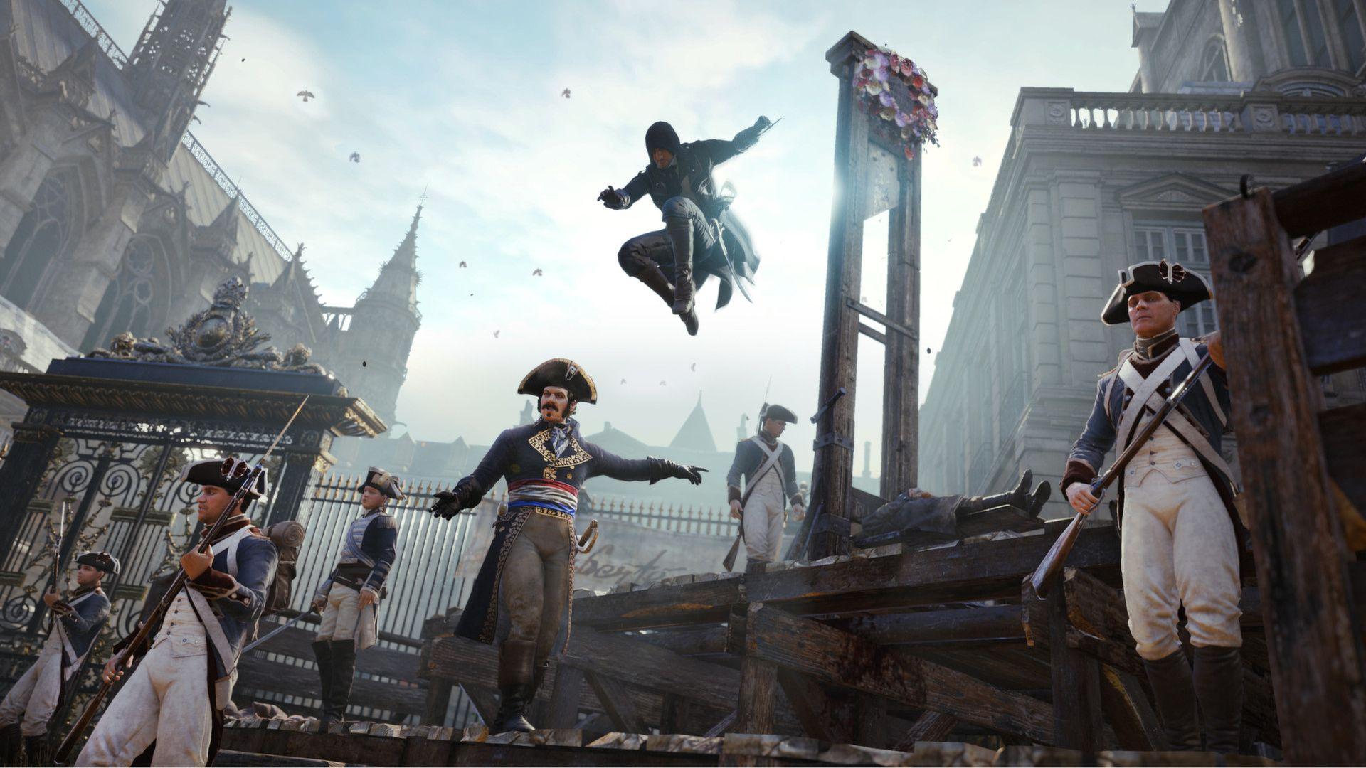 فارسی ساز کامل  Assassin's Creed Unity