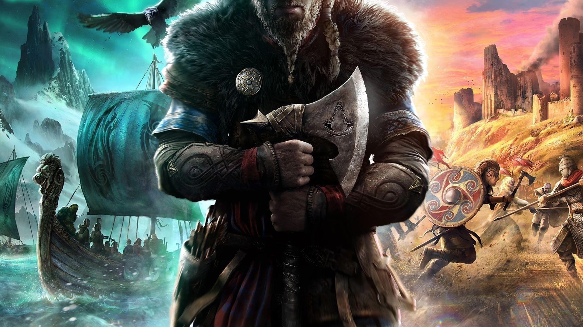 Assassins Creed Valhalla re min - خرید سی دی کی اشتراکی  Assassin's Creed Valhalla Ultimate Edition