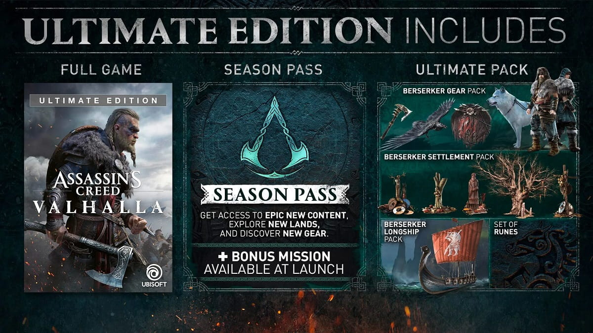 assassins creed valhalla ultimate edition cdkeyshare.ir min - خرید سی دی کی اشتراکی  Assassin's Creed Valhalla Ultimate Edition