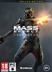 سی دی کی اورجینال Mass Effect: Andromeda Deluxe Edition