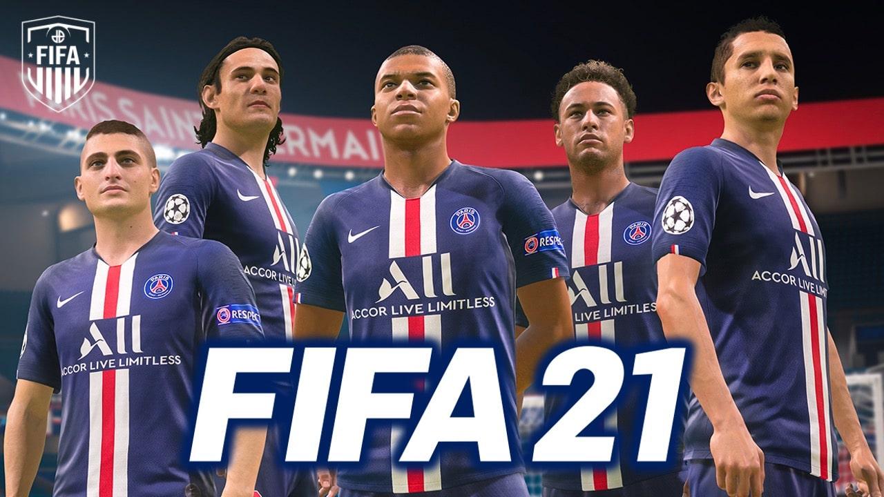 سی دی کی اشتراکی بازی FIFA 21 (فیفا 21)