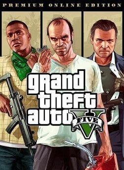 سی دی کی اورجینال GTA V Premium Edition